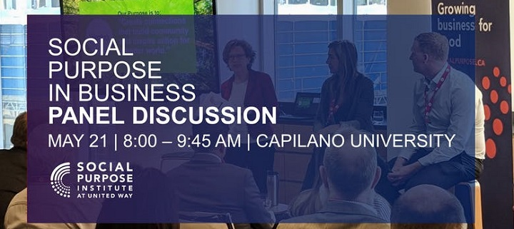 Social Purpose in Business Panel Discussion