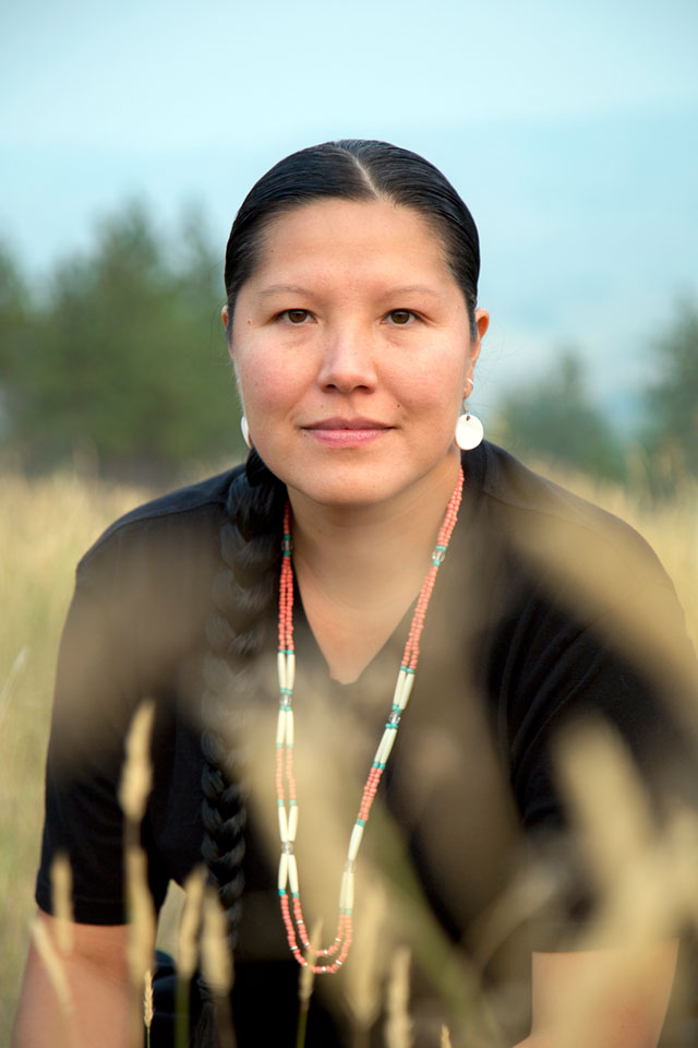 Filmmaker and 2018 Alumni Awards of Excellence recipient Petie Chalifoux in Merritt, B.C., on Aug. 24, 2018.