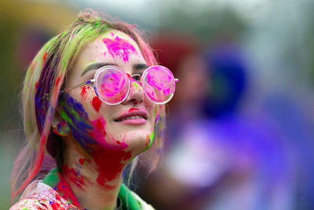 The Centre for International Experience hosts World of Colour, inspired by the Hindu Holi Festival, on March 14, 2019.